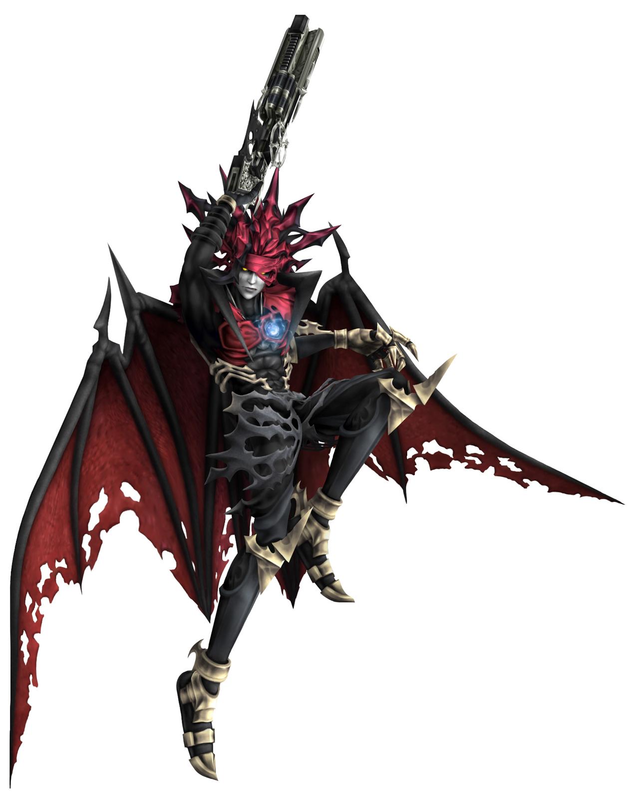 ... Fantasy VII Excavation - Dirge of Cerberus - Art - Main Characters